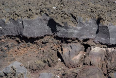 Vulcano di Etna, Sicilia Immagine Stock