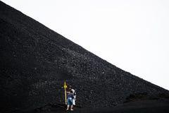 Vulcano di Etna, Sicilia, Italia fotografia stock libera da diritti