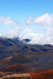 Vulcano di Haleakala in Hawai Fotografia Stock Libera da Diritti