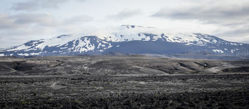 Vulcano di Hekla, Islanda Fotografie Stock Libere da Diritti