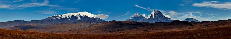 Vulcano di Kamchatka immagine stock
