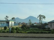 Vulcano di Karisimbi Fotografia Stock Libera da Diritti