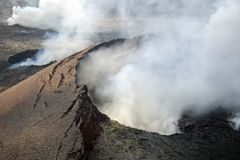Vulcano di Kilauea Fotografie Stock Libere da Diritti
