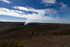 Vulcano di Kilauea Fotografia Stock