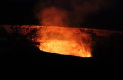 Vulcano di Kilauea Immagine Stock