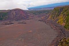 Vulcano di Kilauea sulla grande isola dell'Hawai Fotografia Stock Libera da Diritti