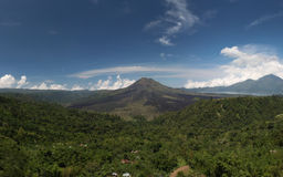 Vulcano di Kintamani Fotografia Stock