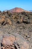 Vulcano di Lanzerote Fotografia Stock Libera da Diritti