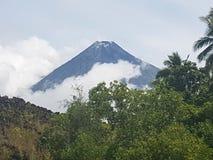 Vulcano di Mayon Fotografia Stock