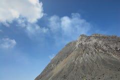 Vulcano di Merapi Immagini Stock Libere da Diritti