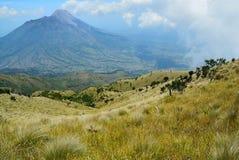 Vulcano di Merapi Immagine Stock