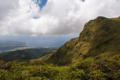 Vulcano di Montagne Pelee, la Martinica Fotografie Stock Libere da Diritti