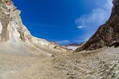 Vulcano di Mutnovsky Immagine Stock Libera da Diritti