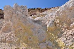 Vulcano di Nisyros Fotografia Stock Libera da Diritti