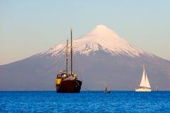 Vulcano di Osorno Immagine Stock