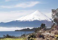 Vulcano di Osorno Fotografia Stock