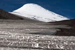 Vulcano di Osorno nel Cile Fotografia Stock Libera da Diritti