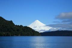 Vulcano di Osorno, Patagonia Immagini Stock