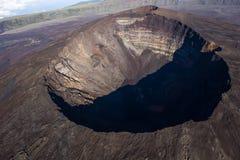 Vulcano di Piton de la Fournaise, Reunion Island, Francia Fotografia Stock