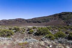 Vulcano di Piton de la Fournaise, Reunion Island, Francia Fotografie Stock