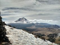 Vulcano di Popocatepetl Fotografie Stock Libere da Diritti