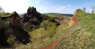 Vulcano di Racos Fotografia Stock Libera da Diritti