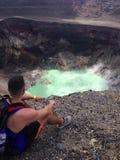 Vulcano di Salvador Fotografia Stock