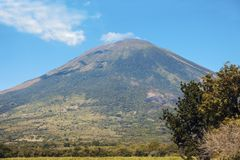 Vulcano di San Miguel Fotografia Stock Libera da Diritti