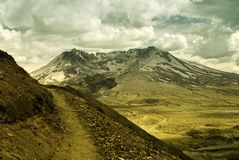 Vulcano di St'Helens Fotografie Stock