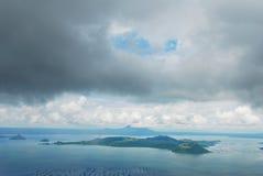 Vulcano di Taal, Filippine Fotografia Stock Libera da Diritti