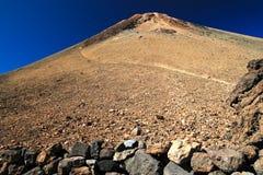 Vulcano di Teide in Tenerife Fotografia Stock Libera da Diritti