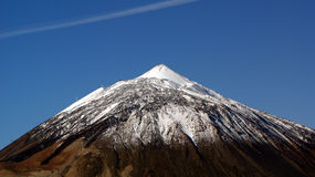 Vulcano di Teide, Tenerife, Isole Canarie, in Spagna Immagini Stock Libere da Diritti