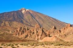 Vulcano di Teide. Tenerife, Isole Canarie, Spagna Fotografia Stock