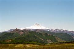 Vulcano di Villarica, Cile Fotografie Stock Libere da Diritti