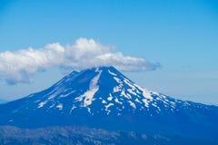 Vulcano dopo il erruption Immagine Stock