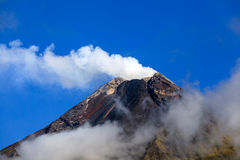 Vulcano erupcja Obrazy Royalty Free