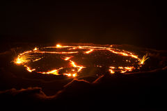 Vulcano in Etiopia Immagine Stock