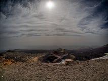 Vulcano Etna. The vulcano Etna in Sicily Royalty Free Stock Photography