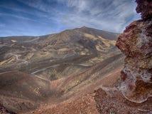 Vulcano Etna. The vulcano Etna in Sicily Royalty Free Stock Image