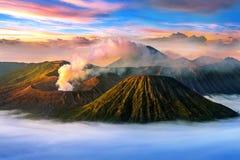 Vulcano Gunung Bromo di Bromo del supporto Fotografia Stock
