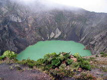 Vulcano Irazu Fotografia Stock Libera da Diritti