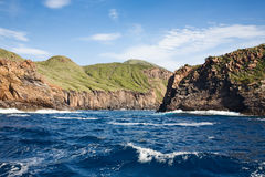 Vulcano Island Royalty Free Stock Images