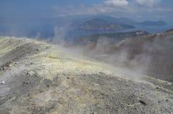 Vulcano Island, Lipari, Italy Stock Image