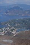 Vulcano Island, Lipari, Italy Royalty Free Stock Photo