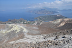 Vulcano Island, Lipari, Italy Stock Images