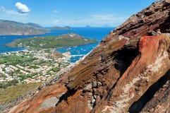 Vulcano island Stock Image