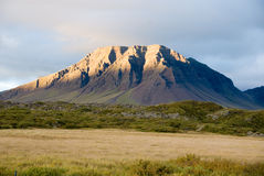 Vulcano in Islanda Fotografia Stock Libera da Diritti