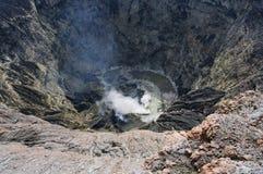 Vulcano Kerinci Fotografia Stock