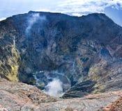 Vulcano Kerinci. Fotografia Stock