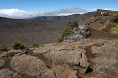 Vulcano La Fournaise at Reunion island Stock Photography